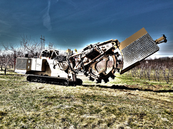 775DT trencher from Tesmec
